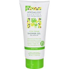 HGR1599612 - Andalou NaturalsShower Gel - Citrus Verbena Uplifting - 8.5 fl oz