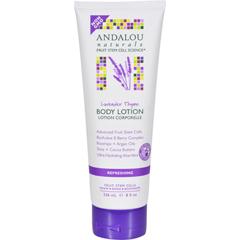 HGR1599687 - Andalou NaturalsBody Lotion - Lavender Thyme Refreshing - 8 fl oz