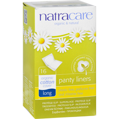 HGR1600097 - NatracarePanty Liners - Long - Wrapped - 16 Count