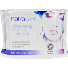 HGR1600105 - NatracareMake-Up Removal Wipes - Cleansing - 20 Count
