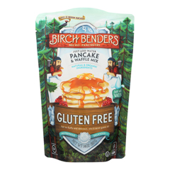 HGR1601293 - Birch Benders - Pancake and Waffle Mix - Gluten Free - Case of 6 - 14 oz..