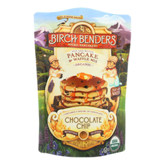 HGR1601319 - Birch Benders - Pancake and Waffle Mix - Chocolate Chip - Case of 6 - 16 oz..