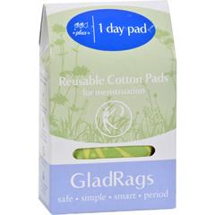 HGR1602721 - Gladrags - Day Pad - Plus - Cotton - Color - 1 Count