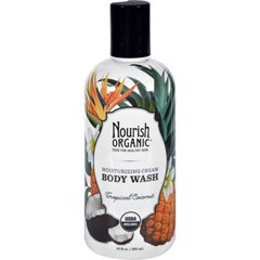 HGR1604495 - NourishBody Wash - Organic - Tropical Coconut - 10 fl oz