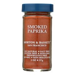 HGR1606680 - Morton and Bassett - Smoked Paprika - Paprika - Case of 3 - 2 oz..