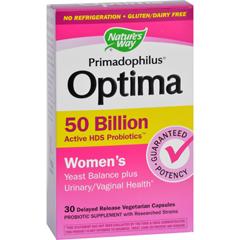 HGR1606771 - Nature's WayPrimadophilus Optima - Womens - 50 Billion - 30 Vegetarian Capsules