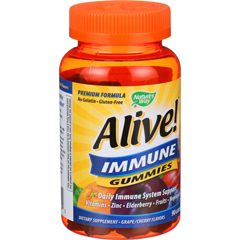 HGR1606839 - Nature's WayAlive Immune Gummies - 90 Count