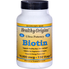 HGR1611326 - Healthy OriginsBiotin - 10,000 mcg - 150 Vcaps