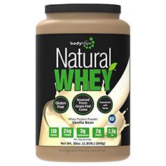 HGR1611425 - BodylogixProtein Powder - Natural Whey - Vanilla Bean - 1.85 lb