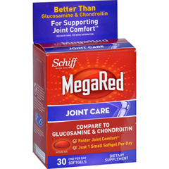 HGR1611508 - Schiff VitaminsJoint Care - MegaRed - 30 Softgels