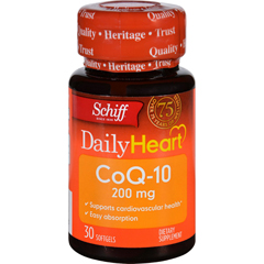 HGR1611599 - Schiff VitaminsCoQ 10 Enzyme - 200 mg - 30 Softgels