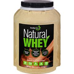 HGR1614940 - BodylogixProtein Powder - Natural Whey - Dark Chocolate - 1.85 lb