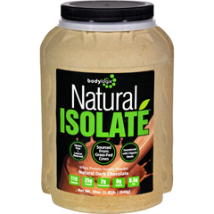HGR1614957 - BodylogixIsolate Powder - Natural Whey - Dark Chocolate - 1.85 lb