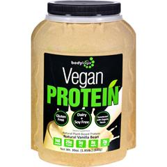 HGR1614965 - BodylogixProtein Powder - Vegan Plant Based - Vanilla Bean - 1.85 lb
