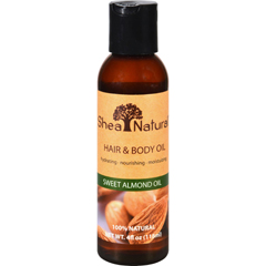 HGR1619717 - Shea NaturalHair and Body Oil - Sweet Almond Oil - 4 oz