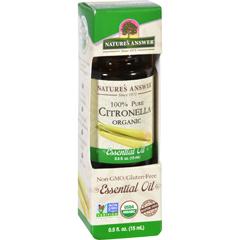 HGR1619931 - Nature's AnswerNatures Answer Essential Oil - Organic - Citronella - .5 oz