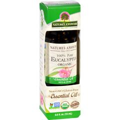 HGR1619956 - Nature's AnswerNatures Answer Essential Oil - Organic - Eucalyptus - .5 oz