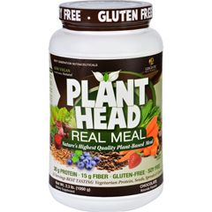 HGR1620277 - Genceutic NaturalsPlant Head Real Meal - Chocolate - 2.3 lb