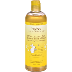 HGR1625607 - Babo BotanicalsBaby Bubble Bath and Wash - Moisturizing - Oatmilk - 15 oz