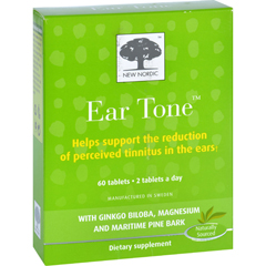 HGR1626449 - New NordicEar Tone - 60 Tablets