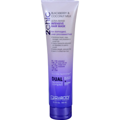 HGR1626720 - Giovanni Hair Care ProductsHair Mask - 2chic - Repairing - Intensive - Blackberry and Coconut Milk - 5.1 oz