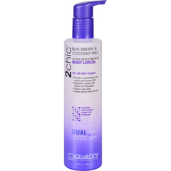 HGR1626779 - Giovanni Hair Care ProductsLotion - 2chic - Repairing - Ultra-Replenishing - Blackberry and Coconut Milk - 8.5 oz