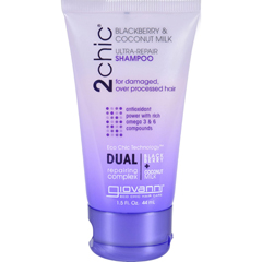 HGR1626787 - Giovanni Hair Care ProductsShampoo - 2chic - Repairing - Blackberry and Coconut Milk - 1.5 oz