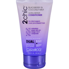 HGR1626795 - Giovanni Hair Care ProductsConditioner - 2chic - Repairing - Blackberry and Coconut Milk - 1.5 oz