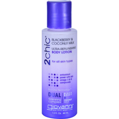 HGR1626811 - Giovanni Hair Care ProductsLotion - 2chic - Repairing - Ultra-Replenishing - Blackberry and Coconut Milk - 1.5 oz