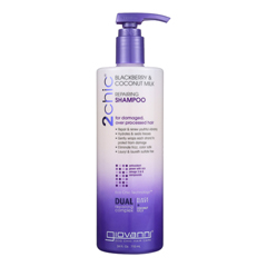 HGR1626829 - Giovanni Hair Care Products2Chic Repairing Shampoo - Blackberry and Coconut Milk - Case of 1 - 24 Fl oz.