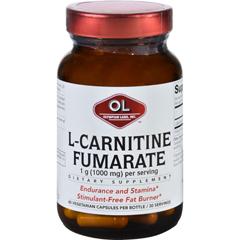 HGR1627868 - Olympian LabsL-Carnitine Fumarate - 1000 mg - 60 Vegetarian Capsules