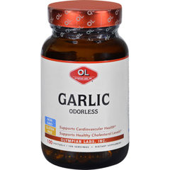 HGR1627983 - Olympian LabsGarlic - Odorless - 100 Softgels