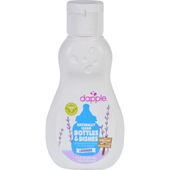 HGR1628833 - DappleBaby Bottle and Dish Liquid - Lavender - Travel Size - 3 oz