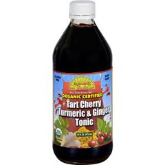 HGR1628932 - Dynamic HealthTonic - Tart Cherry Turmeric and Ginger - Organic Certified - 16 oz