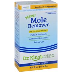 HGR1629393 - King Bio HomeopathicMole Remover - .5 oz