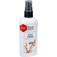 HGR1635333 - NourishOrganic Face Toner - Refreshing and Balancing - Rosewater and Witch Hazel - 3 oz