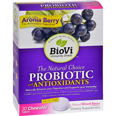 HGR1636471 - BioviBioVi Probiotic - Antioxidant Blend - 30 Chewable Tablets