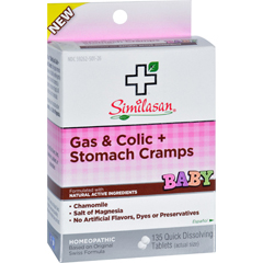 HGR1636992 - SimilasanBaby Gas and Colic plus Stomach Cramps - 135 Tablets