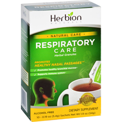 HGR1638238 - Herbion NaturalsRespiratory Care - Natural Care - Herbal Granules - 10 Packets