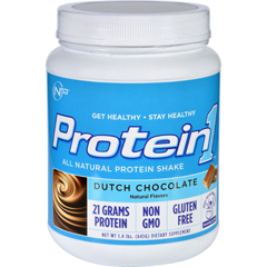 HGR1638626 - Nutrition53Protein Shake - All Natural - Protein1 - Dutch Chocolate - 1.4 lb