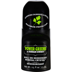 HGR1640317 - Herban CowboyDeodorant - Roll On - Power Greens - 2.5 oz