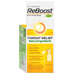 HGR1640648 - ReboostThroat Relief Spray - .68 oz