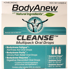 HGR1641026 - BodyanewCleanse - Multipack Oral Drops - 50 ml - 3 Count
