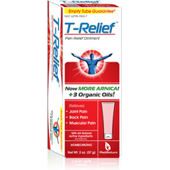 HGR1641224 - T-ReliefPain Relief Ointment - Arnica plus 12 Natural Ingredients - 1.76 oz