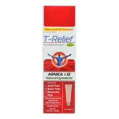 HGR1641240 - T-ReliefPain Relief Ointment - Arnica plus 12 Natural Ingredients - 3.53 oz