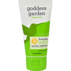 HGR1642255 - Goddess GardenSunscreen - Counter Display - Organic - SPF 30 - Tube - 1 oz