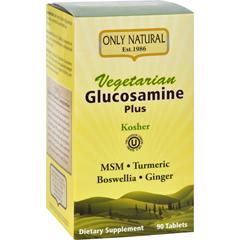 HGR1642958 - Only NaturalGlucosamine - Plus - Vegetarian - 90 Tablets