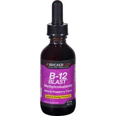 HGR1645530 - Bricker LabsB-12 Blast - Methylcobalamin - Natural Raspberry - 2 oz