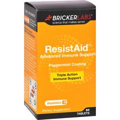 HGR1645589 - Bricker LabsResistAid - 60 Tablets