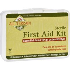 HGR1646009 - All TerrainFirst Aid Kit - 17 Pieces